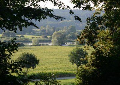 Aussichtspunkt Kalvarienberg aufs Günztal